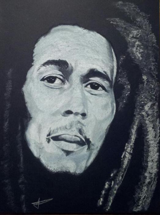 Bob Marley por LUDO